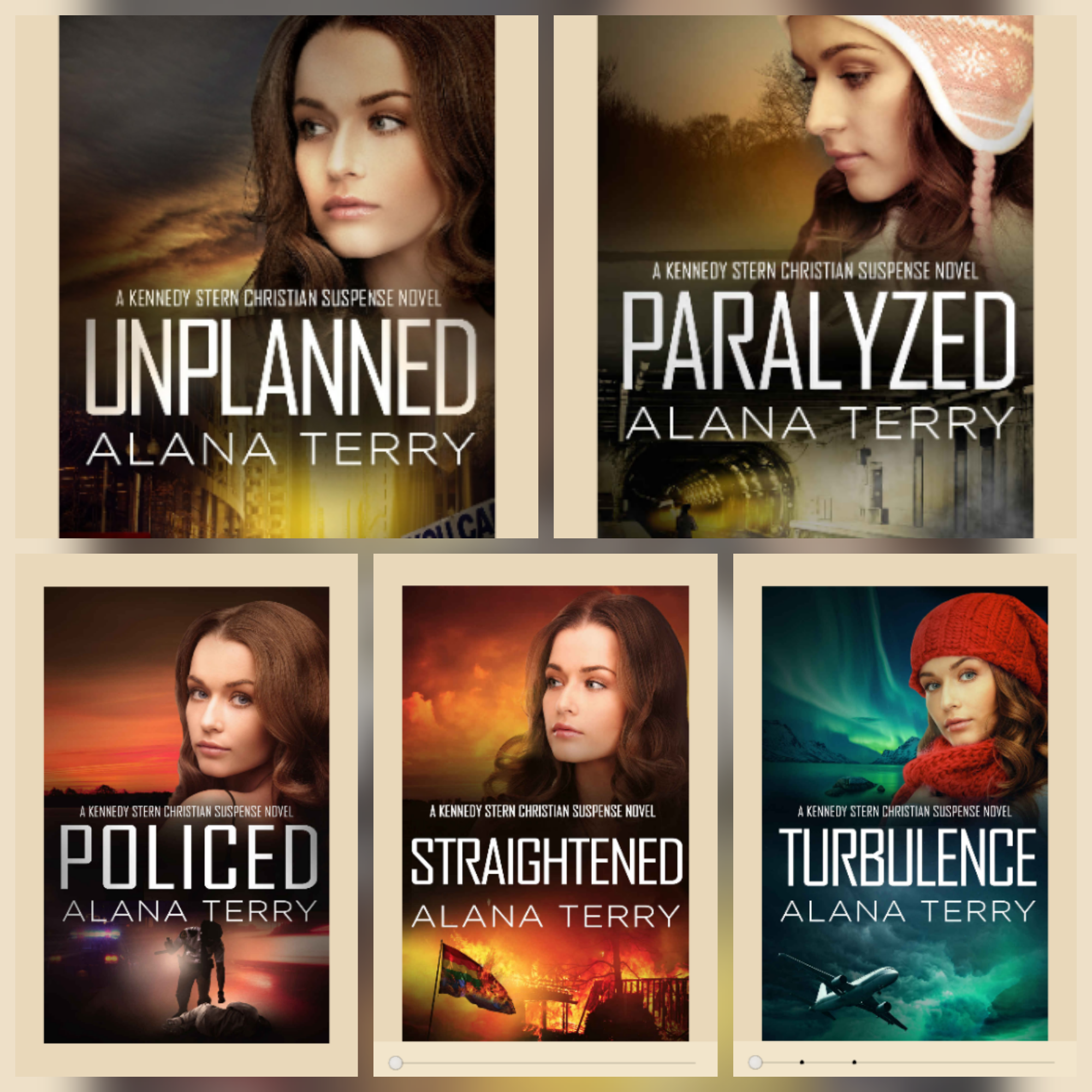 Kennedy Sterns Novels by Alana Terry