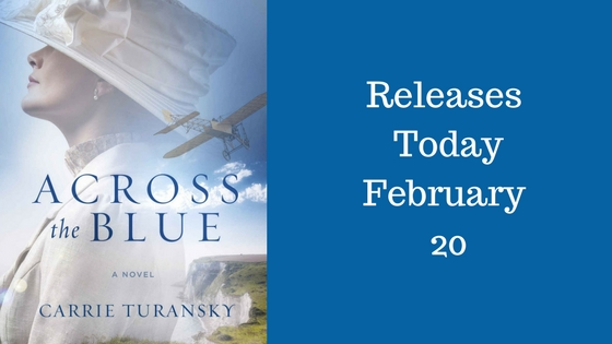 New Release: Across the Blue by Carrie Turansky