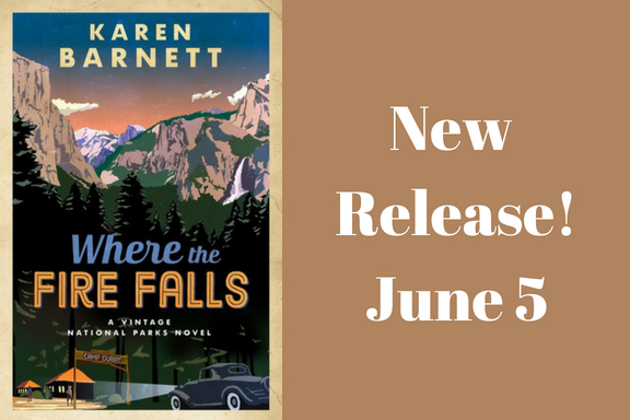 New Release: Where the Fire Falls by Karen Barnett