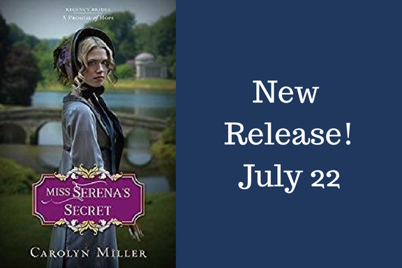 New Release: Miss Serena's Secret by Carolyn Miller