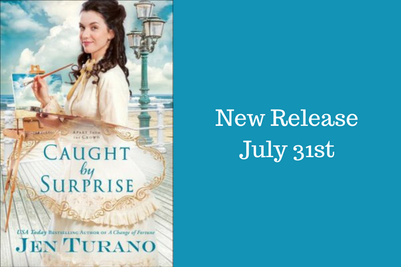 New Release! Caught by Surprise by Jen Turano